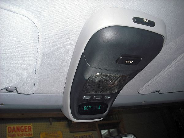 Overhead Console Installed 0131 Jpg