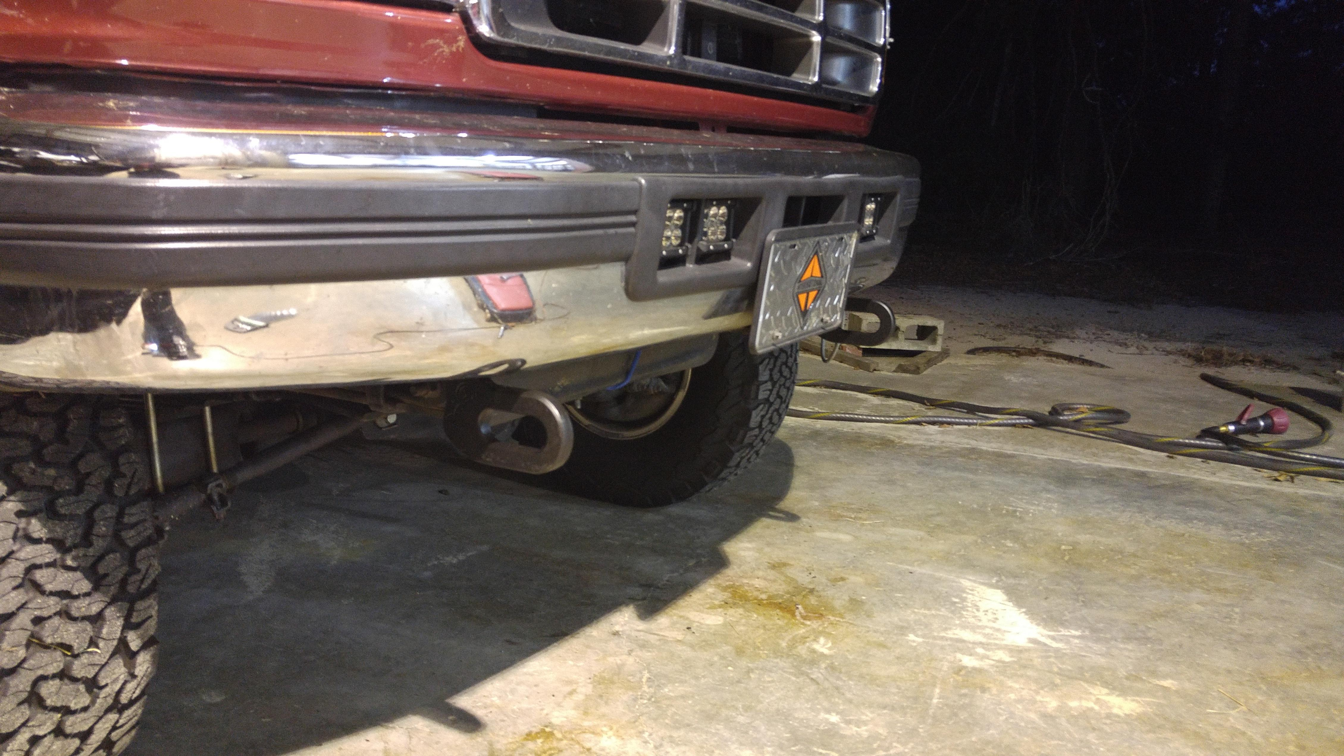 Tow Hooks For Trucks >> Obs Tow Hooks Help Diesel Forum Thedieselstop Com