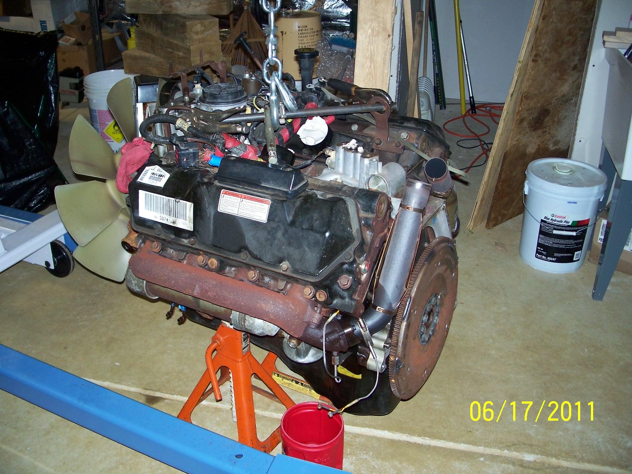 7 3 Motor Swap Can I Do It Myself Diesel Forum