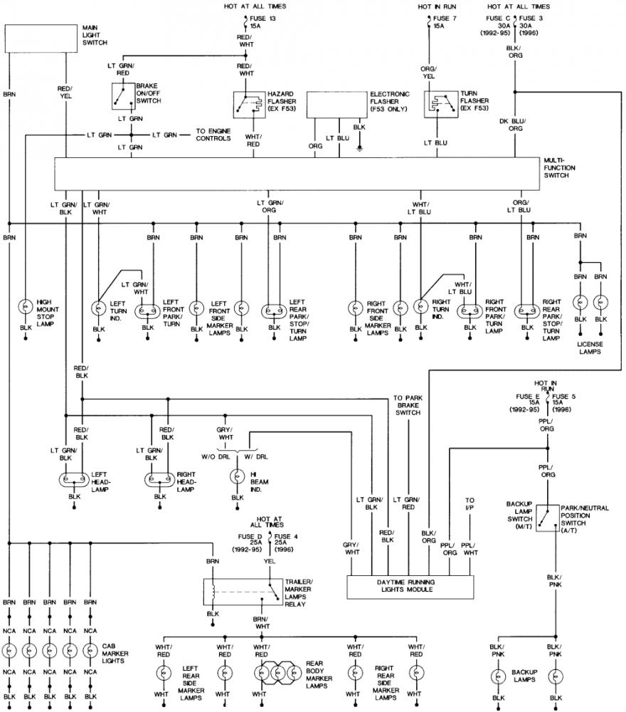 1996 Ford F250 Wiring Diagram from www.thedieselstop.com