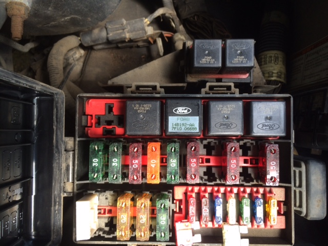 39 96 f350 trailer exterior lamp relay diesel forum 98 Jetta VR6 Engine Diagram