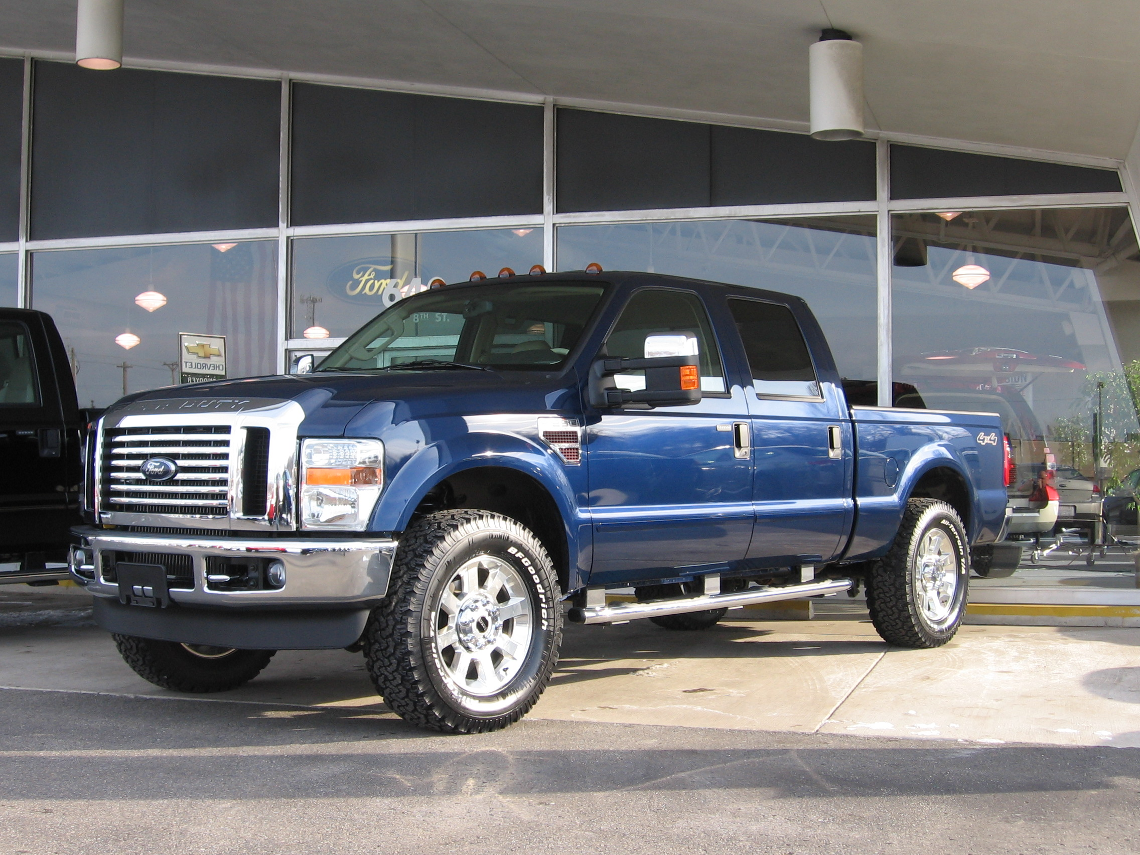 Tires for factory 20 wheels diesel forum thedieselstop click image for larger version name 2008 superduty 005g views 15185 size sciox Gallery