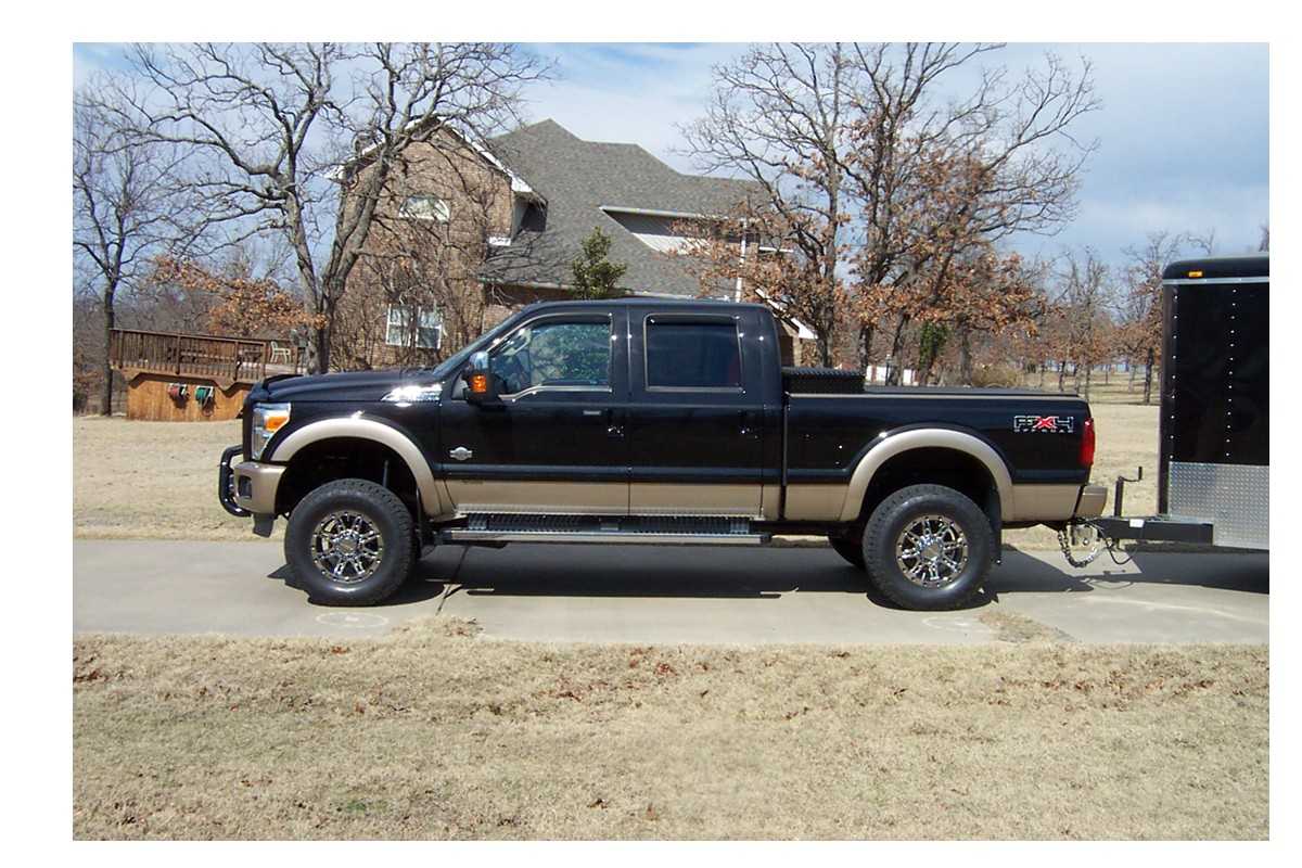 Ford F-250 King Ranch Lifted