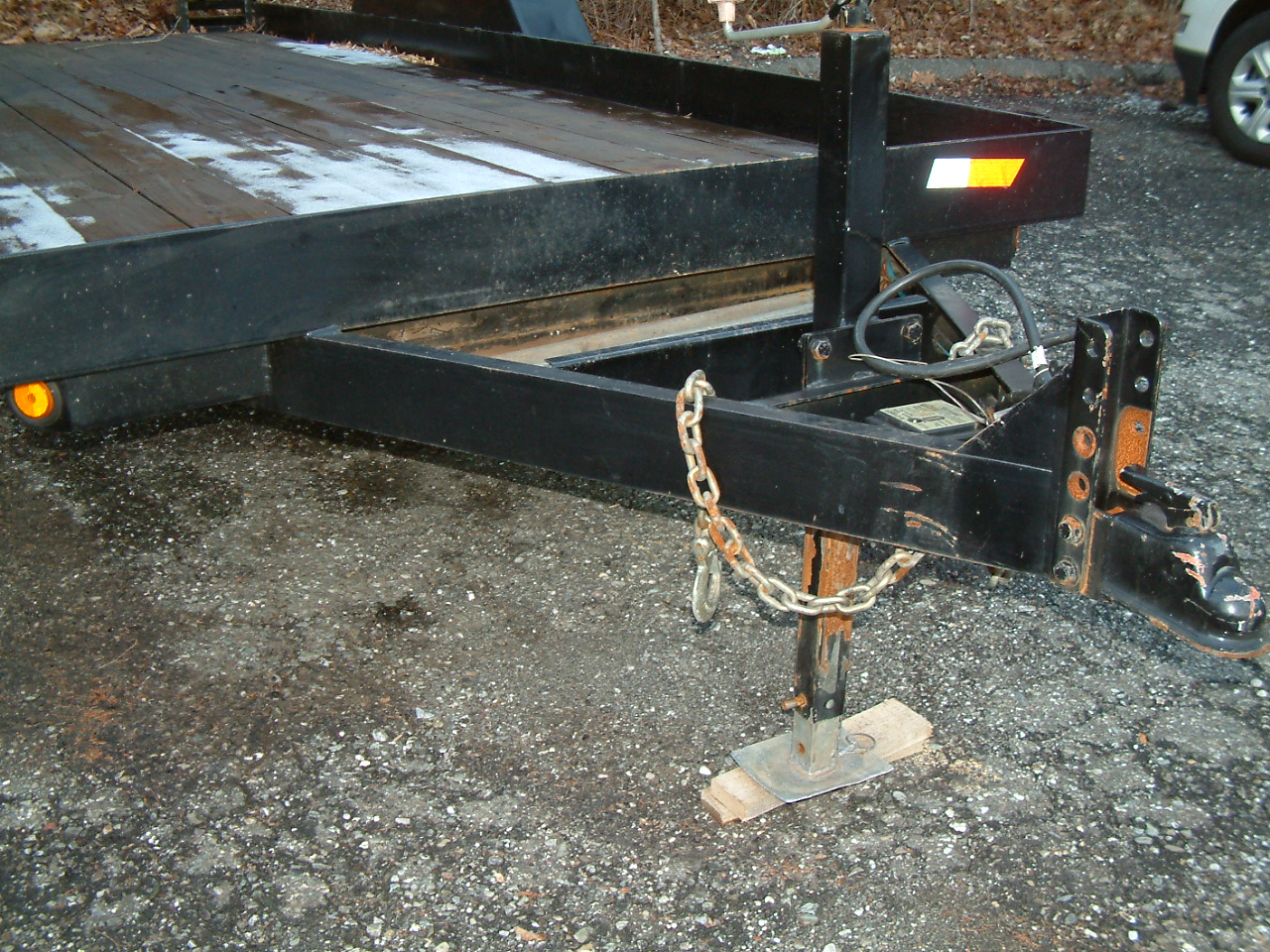 Where are trailer vin #s usually located - need to identify owner ...