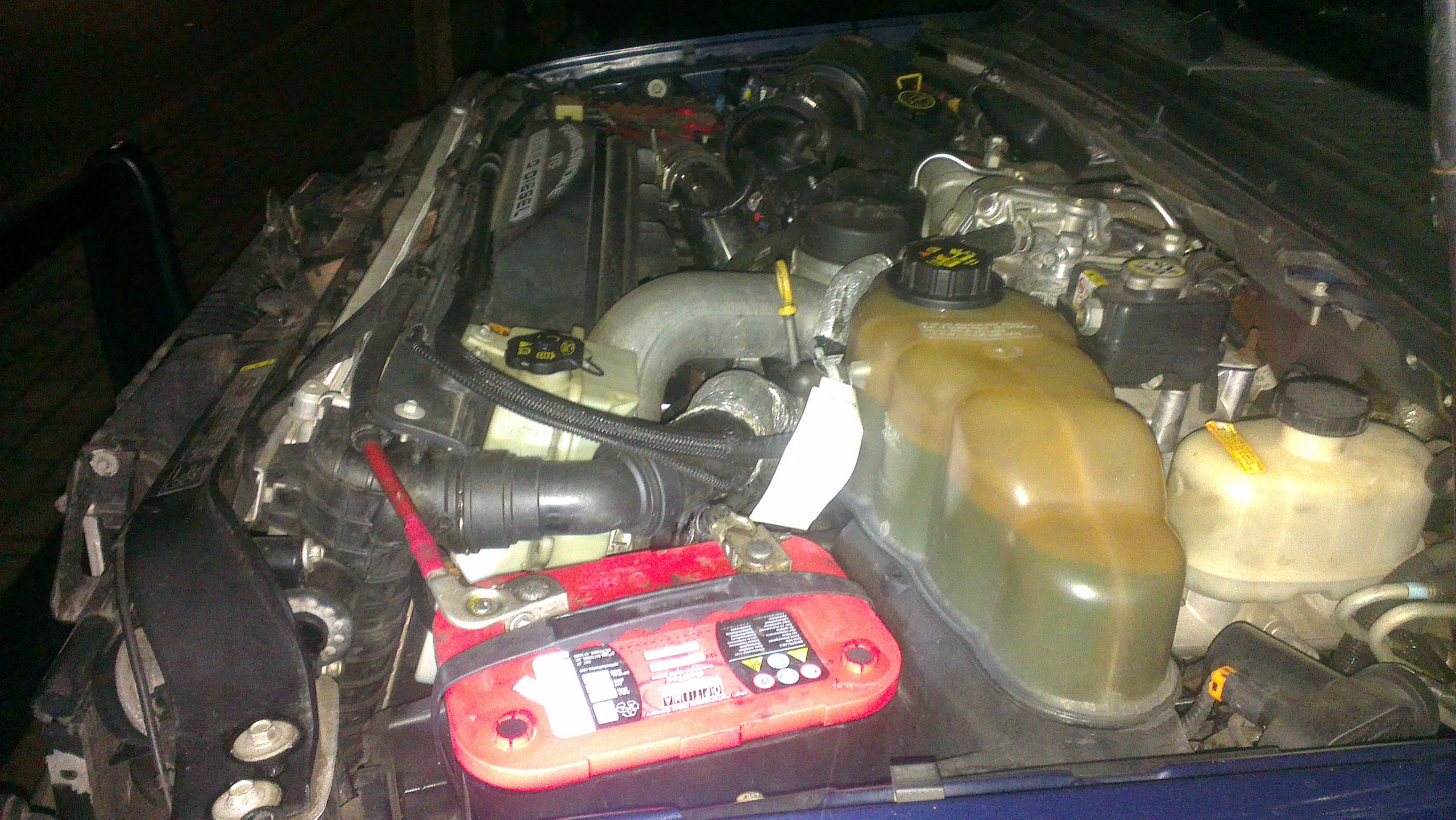 Oil In Coolant >> Problems with the 6.4 Powerstroke; Coolant blows of ...