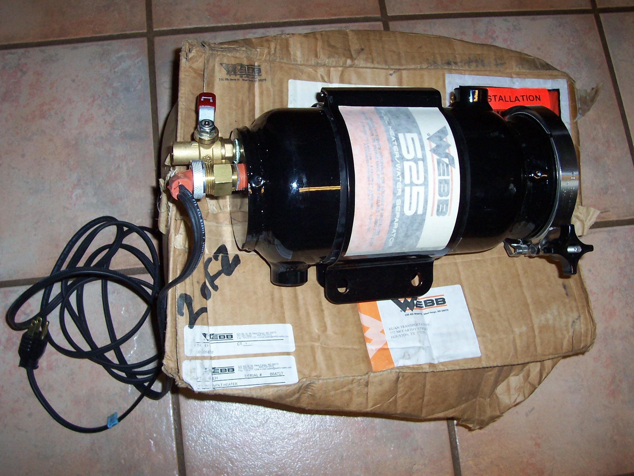 Webb 525 fuel filter/heater/water separator-242.jpg