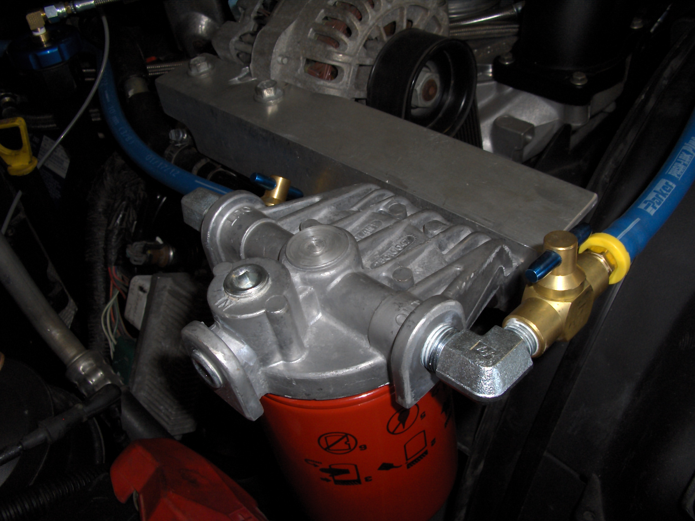 which coolant filter system? - page 2 - diesel forum ... 6 0 powerstroke fuel filter #4