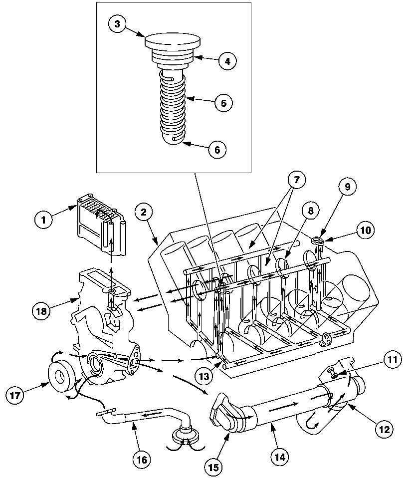 low oil pressure after warm up diesel forum thedieselstop com Ford 5.4 Engine Parts Diagram 7 3l engine diagram 7.3 Powerstroke Diesel Engine Diagram 7.3 Liter Diesel Engine Diagram 7.3 IDI Engine Diagram