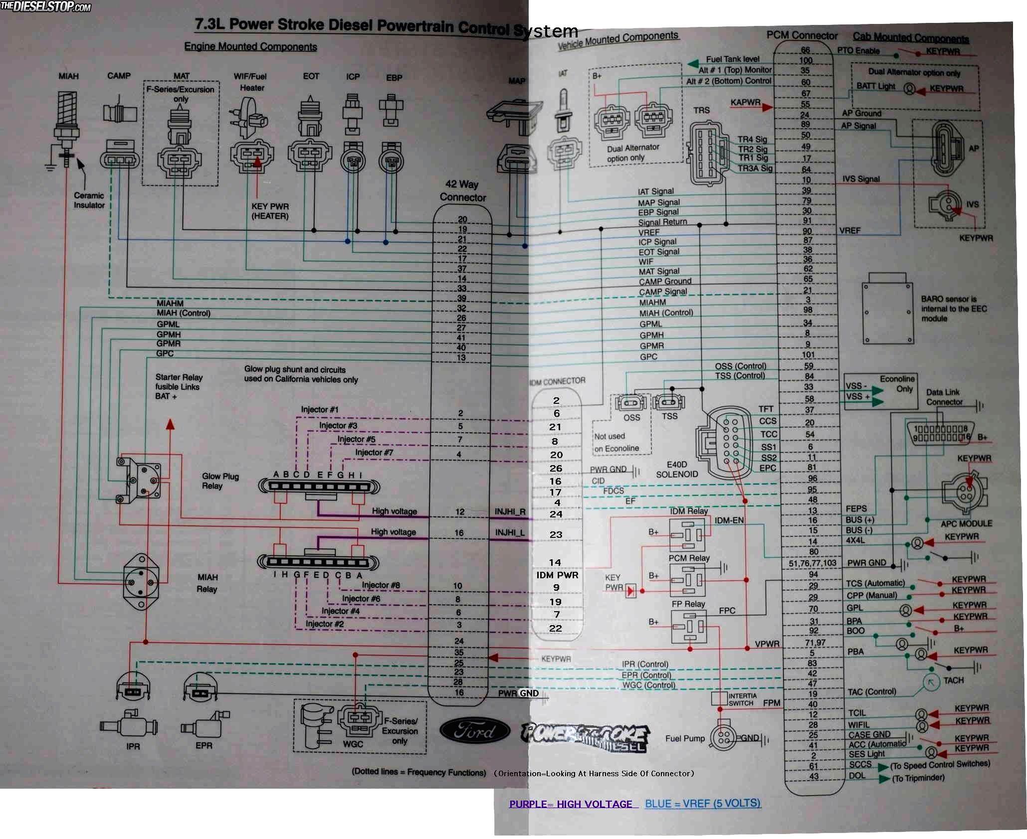 6 0 Powerstroke Oil Temp Sensor Location in addition 2004 Duramax Fuel Pump Location also 2006 Ford F350 6 0 Dual Alternator Wiring Diagram further IPR Ford 6 0 Diesel Wiring Diagram together with Ford 6 0 Wiring Diagram. on 6 0 powerstroke wiring diagram starting