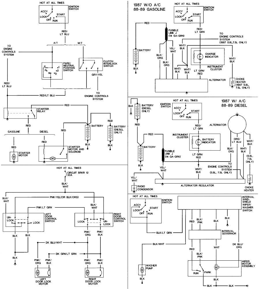 7.3 IDI Starter Wiring | The Diesel StopThe Diesel Stop