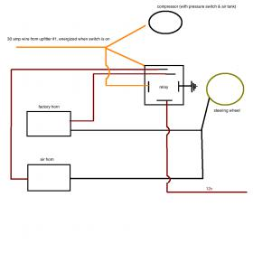air horn wiring diagram wiring diagram and hernes 12 volt replacement horns and specialty air horn installation bad boy