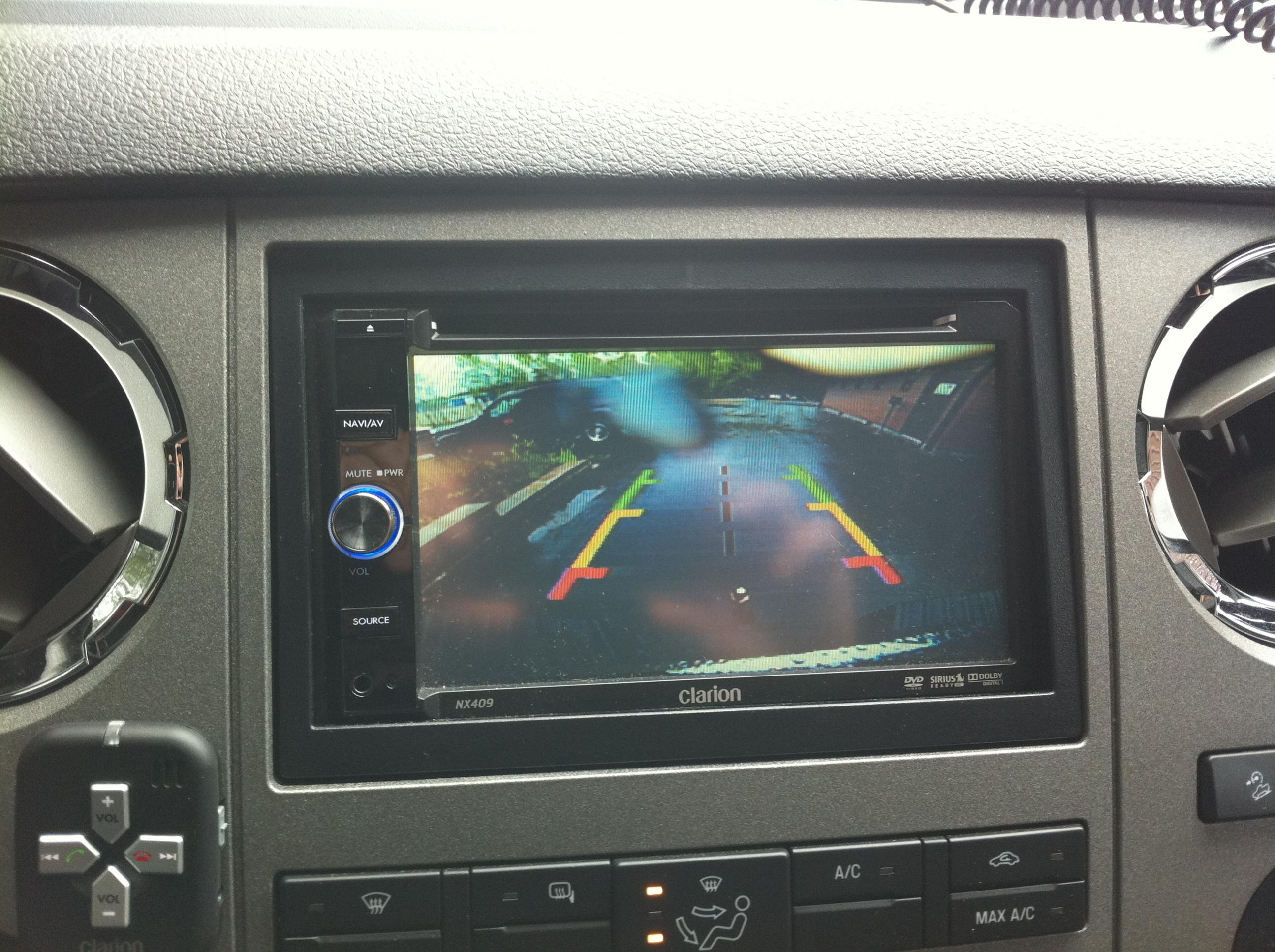 2011 Factory Back Up Camera w/ Aftermarket Screen - Diesel Forum ...