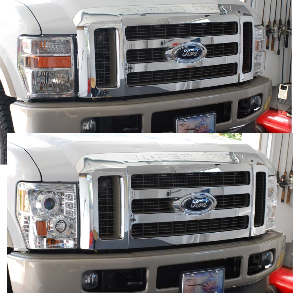 Projector Headlights & LED Taillights Install - Diesel ...