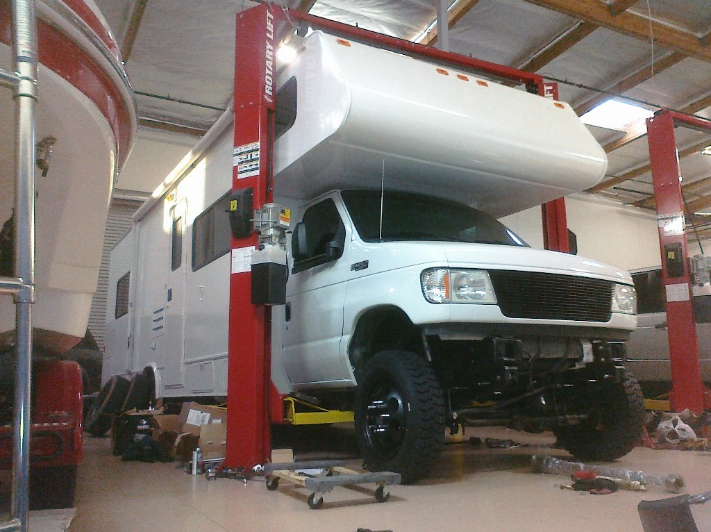 Build Your Own Ford >> e450 class c motorhome 4x4 conversion and lift - Diesel Forum - TheDieselStop.com