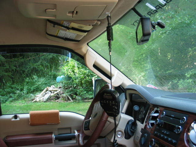 Where To Mount A Cb Radio Page 2 Diesel Forum Thedieselstoprhthedieselstop: Ford Super Duty Cb Radio Mount At Gmaili.net