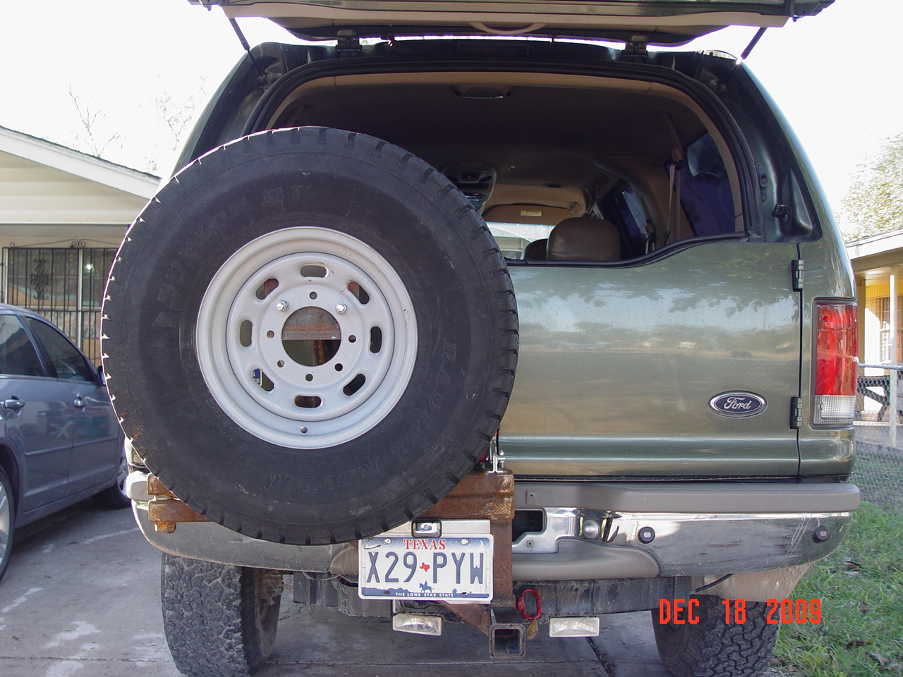 Spare Tire Carrier - Diesel Forum - TheDieselStop.com