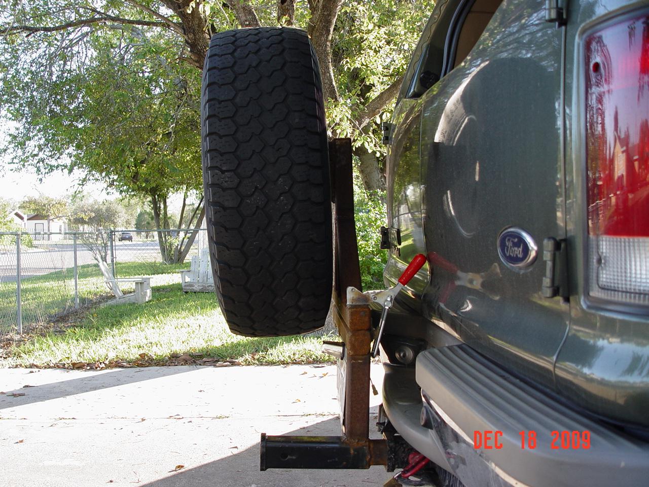 Diesel Exhaust Tip >> Spare Tire Carrier - Diesel Forum - TheDieselStop.com