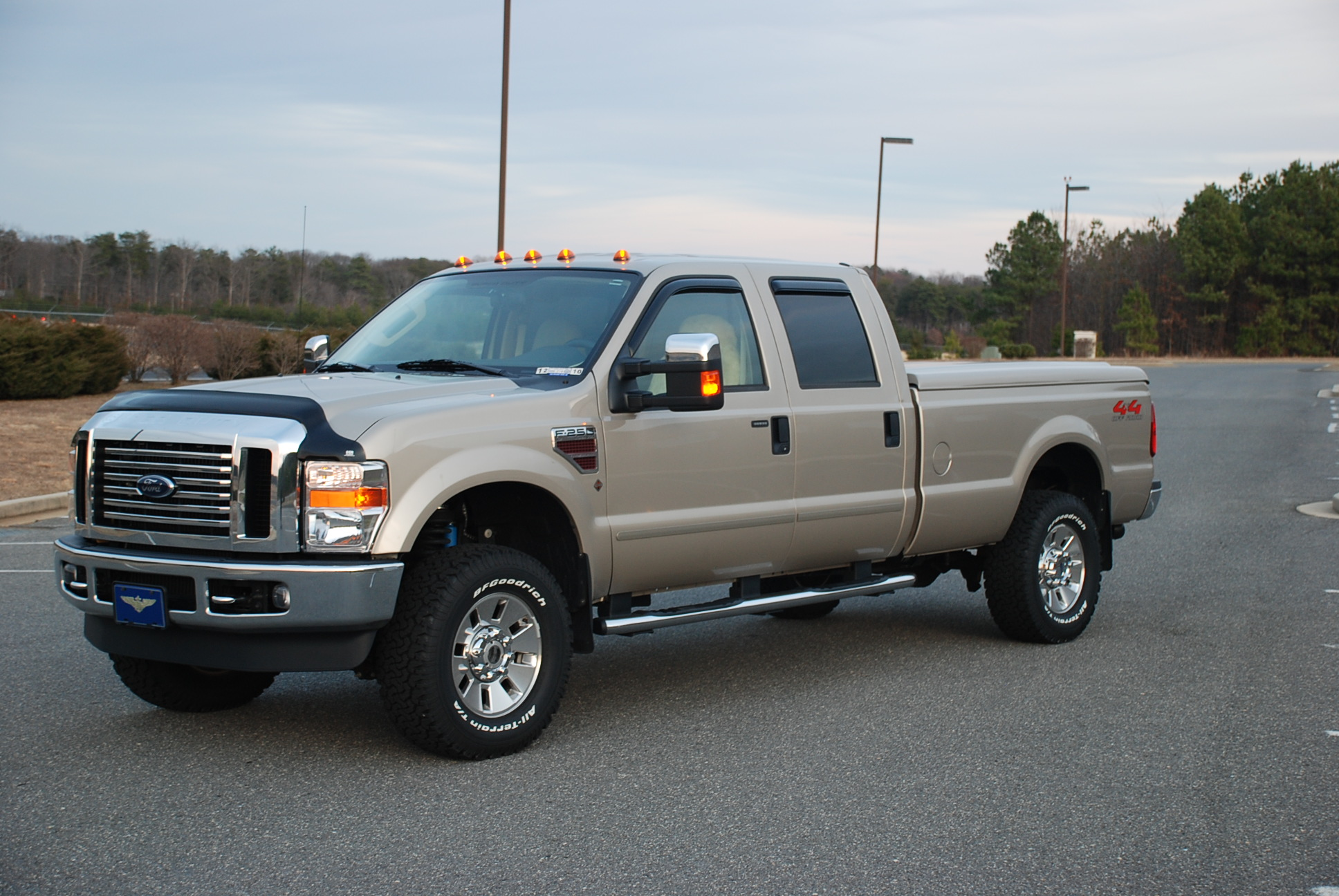 Superduty Chrome Bug Shield on Chrome Package Pics? - Diesel Forum - TheDieselStop.com