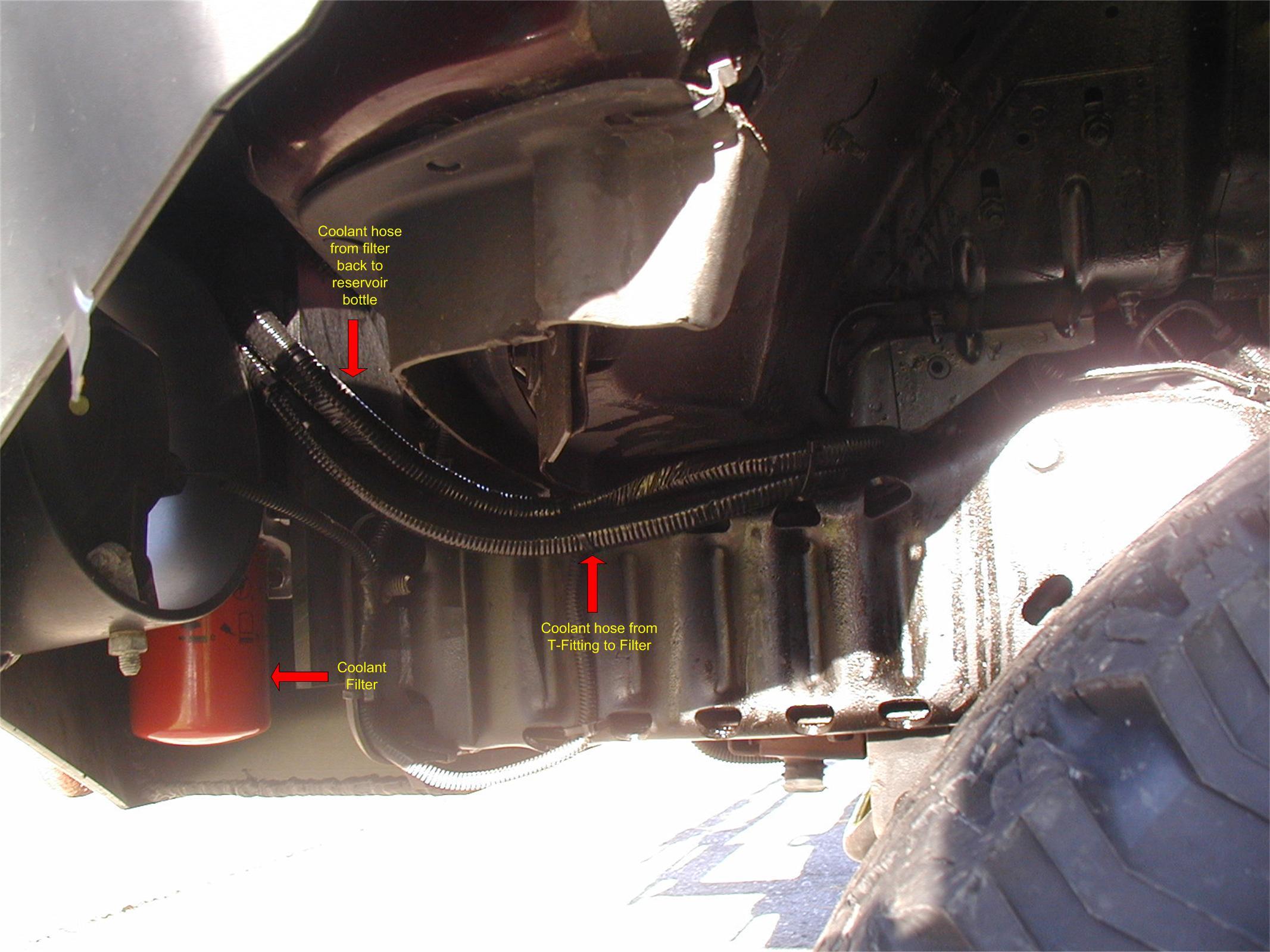 Dieselsite Coolant Filter Installed 60 Van Diesel Forum 03 Duramax Fuel Housing Click Image For Larger Version Name Lines Views 6384 Size 2944