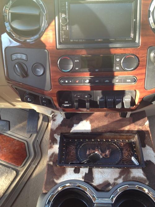 Build Your Own Ford >> My Custom Center Console F350 KR - Diesel Forum - TheDieselStop.com