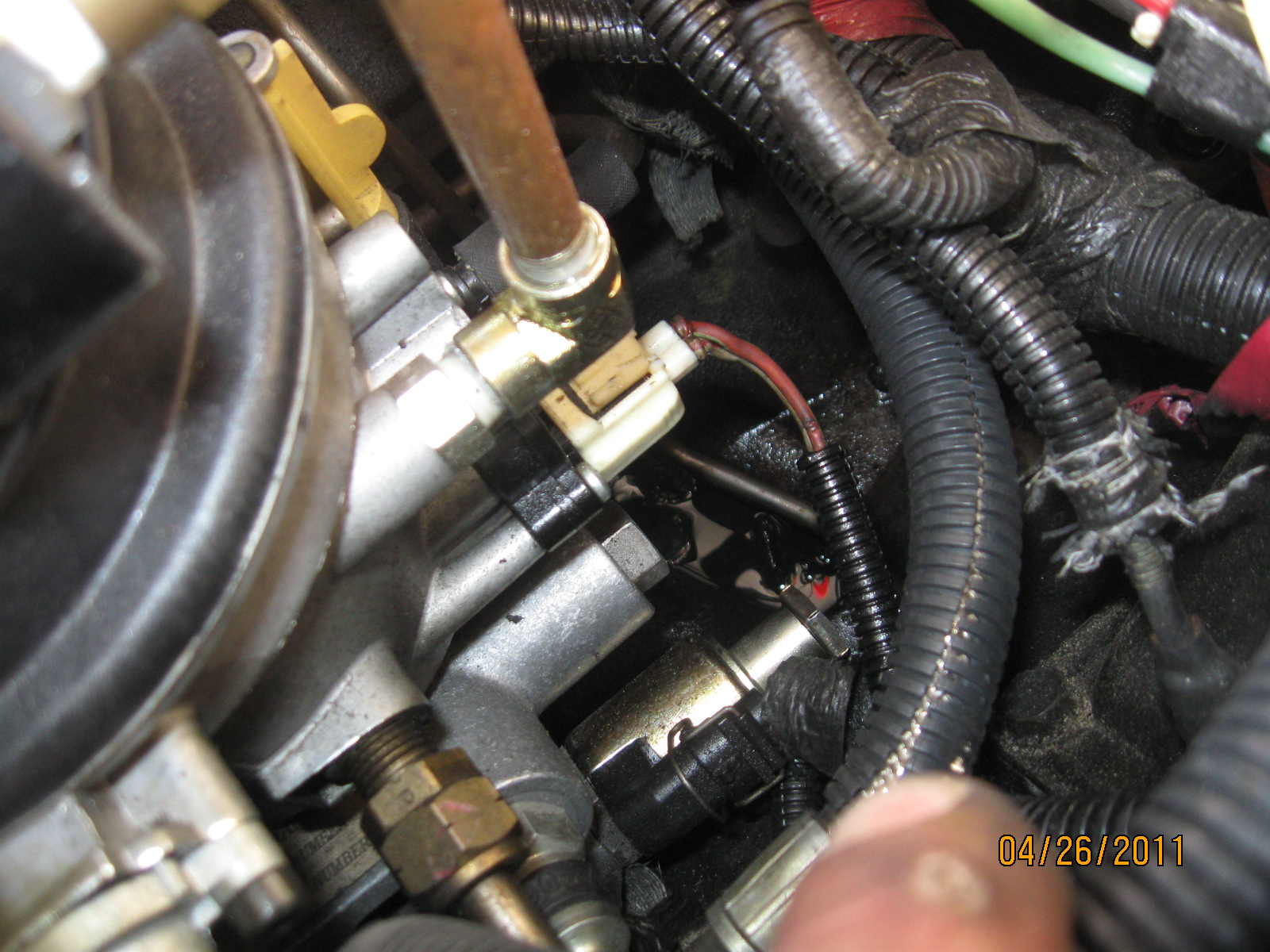 10892d1303873275 fuel bowl leak elec connector fuel bowl 027 fuel bowl leak at a elec connector? diesel forum 7.3 powerstroke fuel bowl wiring harness at n-0.co