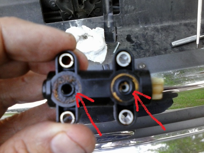 Ford F250 Diesel Mpg >> Fix your fuel leak from filter drain valve - Page 5 ...