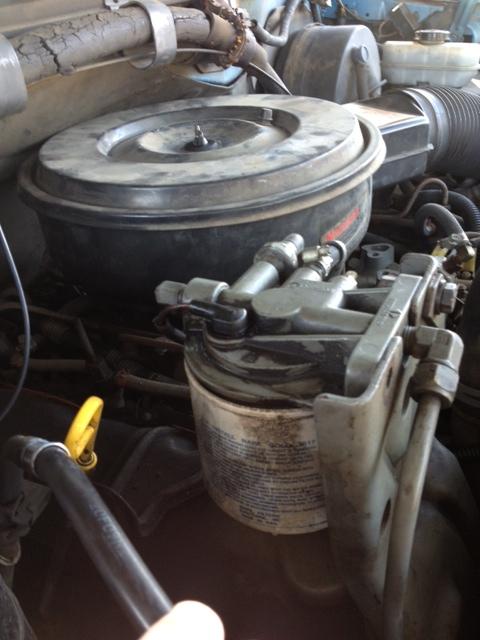 [DHAV_9290]  Leak on top of Fuel Filter | The Diesel Stop | 1990 F250 Diesel Fuel Filter |  | The Diesel Stop