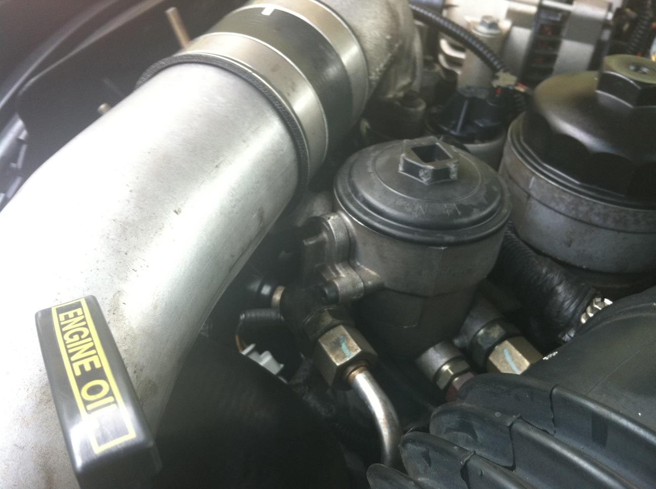 [CSDW_4250]   6.0L Secondary Fuel/Oil Filter Housing 4C3Z-9C166-AA | The Diesel Stop | 05 F250 Fuel Filter Housing |  | The Diesel Stop
