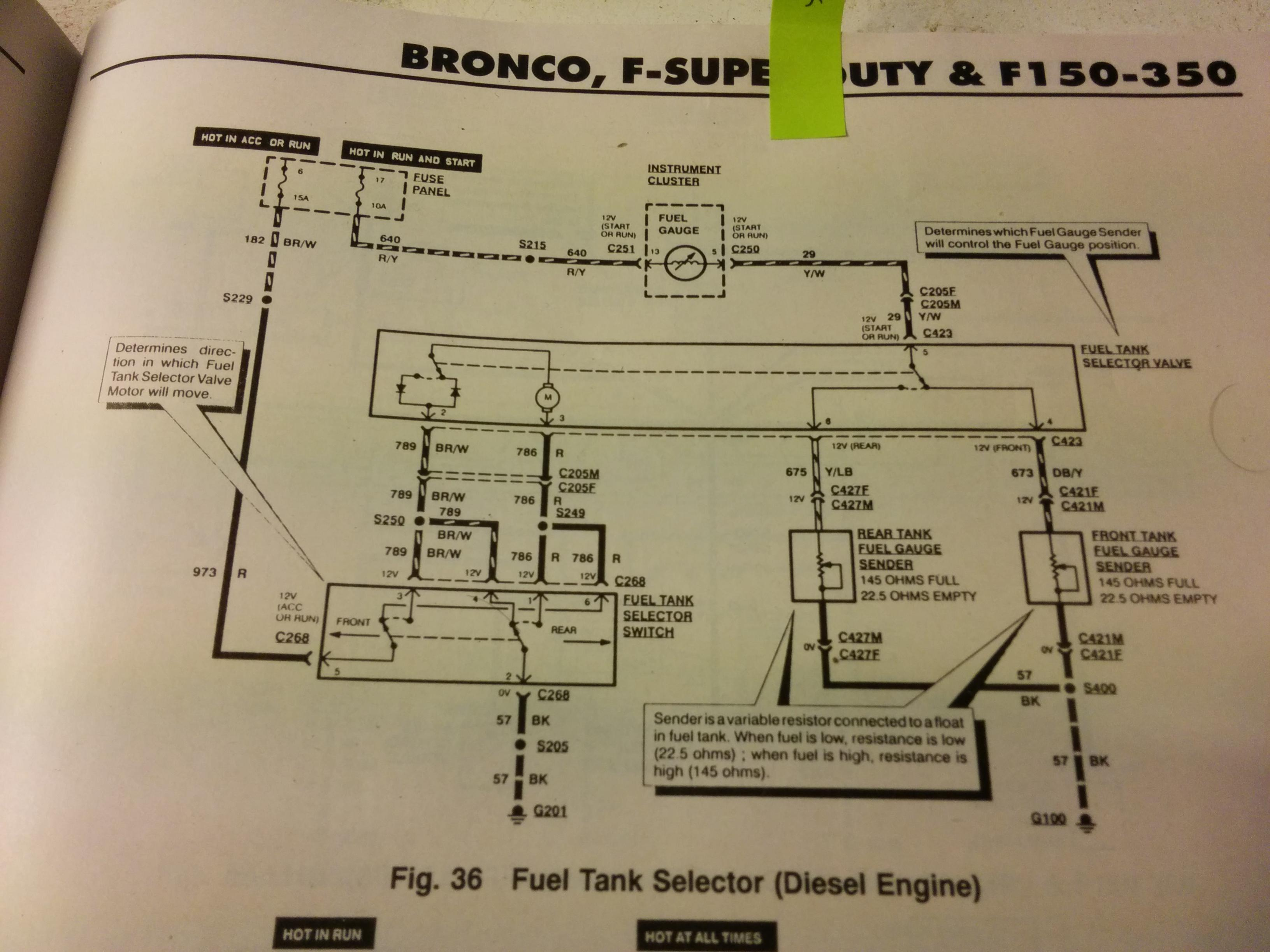 on f250 fuel tank selector switch wiring diagram