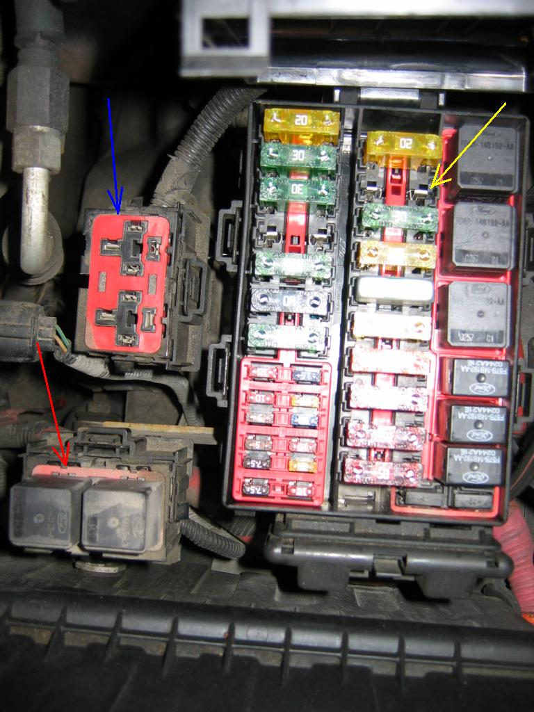 2002 ford f250 wiring diagram wirdig 2003 f250 where are the fuses under the hood autos post