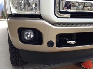 Block Heater Bumper Plug Upgrade - Diesel Forum - TheDieselStop.com