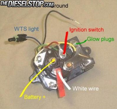 HELP!!! GLOW PLUG RELAY WIRING | The Diesel Stop | 2002 F250 Glow Plug Relay Wiring Diagram |  | The Diesel Stop