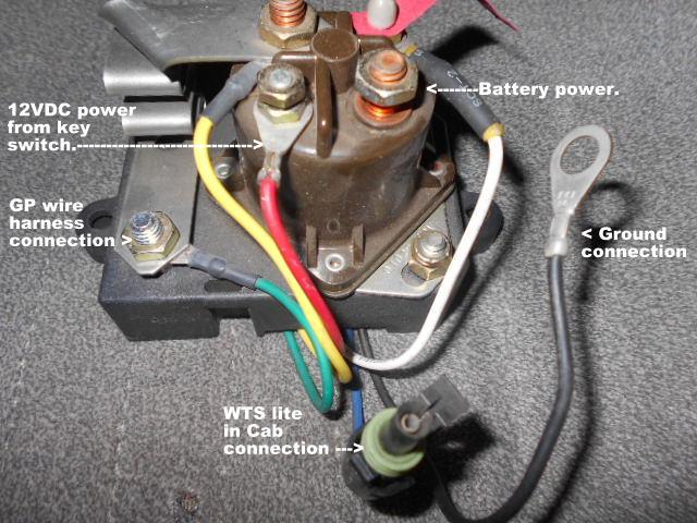 Black  Orange Wire On Starter Relay - Page 2