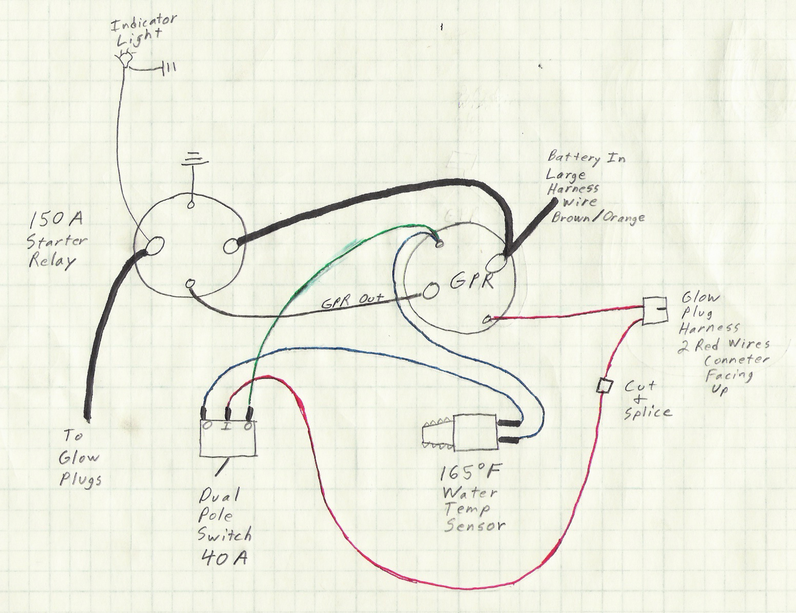 2002 7.3 Powerstroke Glow Plug Relay Wiring Diagram from www.thedieselstop.com