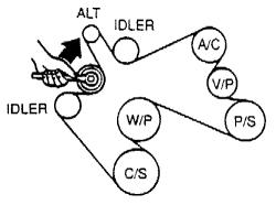 93258d1460298401 95 e350 7 3l serpentine belt questions image 2001 7 3 powerstroke serpentine belt diagram 1997 7 3 powerstroke  at crackthecode.co