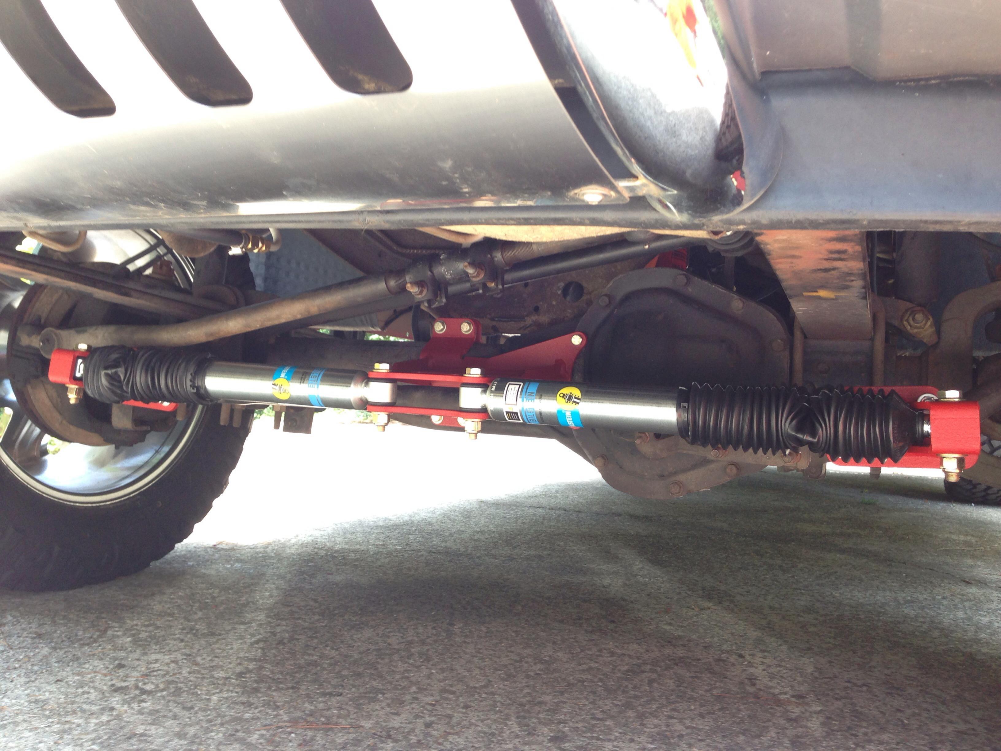 Bilstein Dual Steering Stabilizer F250