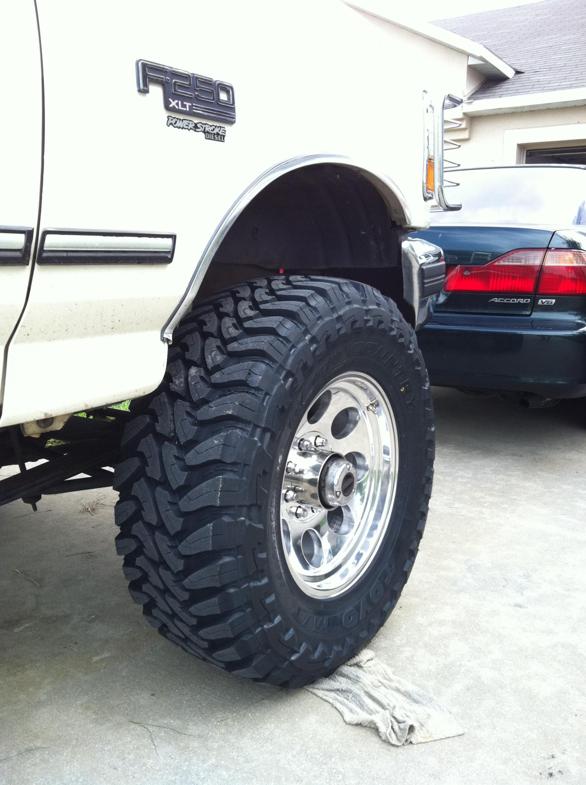 Ford F250 Rims >> New Wheels and Tires - Diesel Forum - TheDieselStop.com