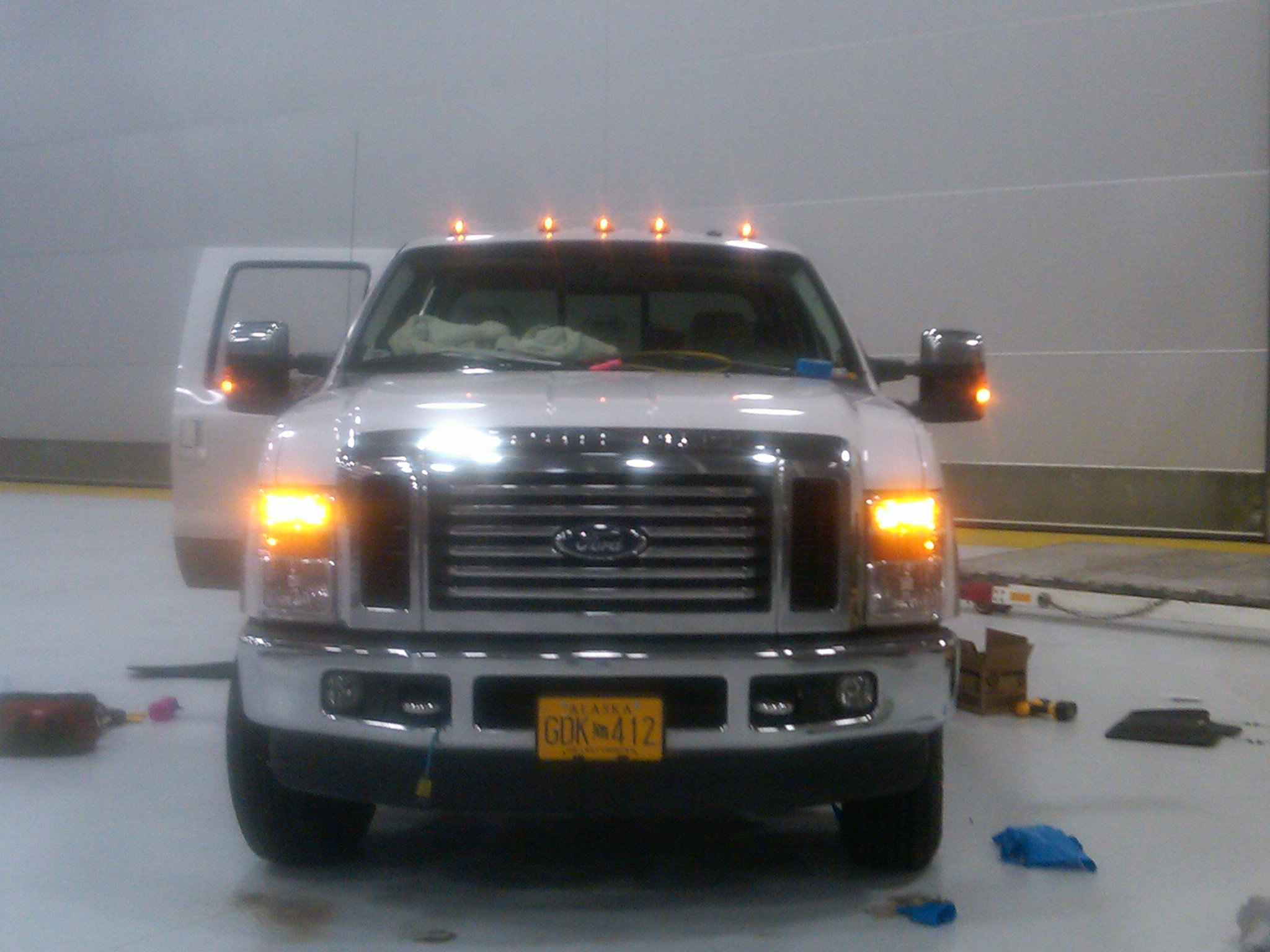 just finished my cab lights - diesel forum