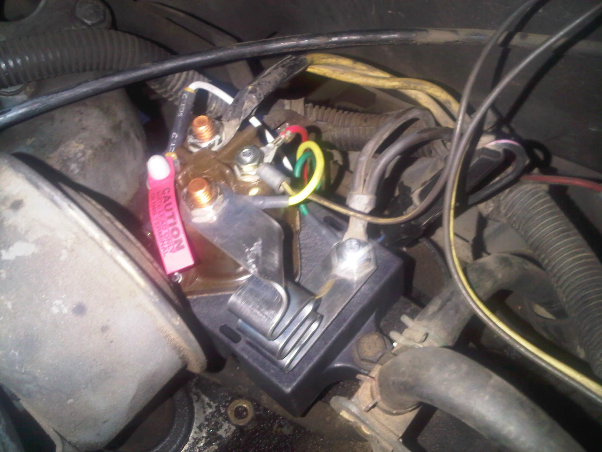 2001 F250 Glow Plug Diagram