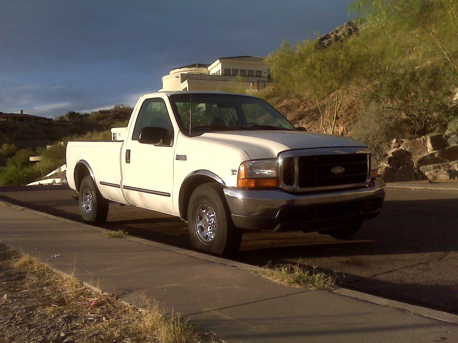 Leveling A 2wd F250 The Diesel Stop