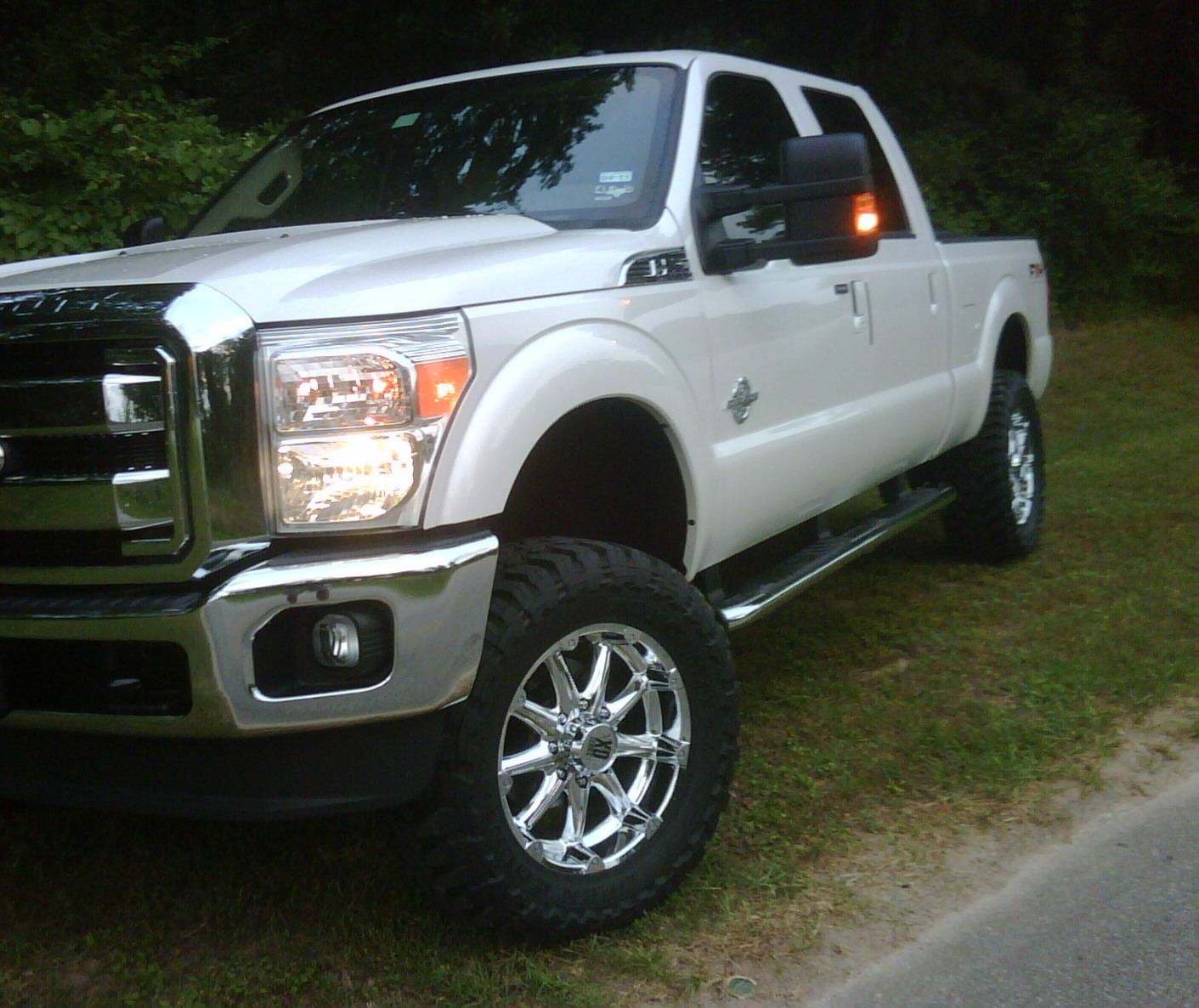 "2016 Ford Super Duty >> 4"" Lift and XD Badlands - Diesel Forum - TheDieselStop.com"
