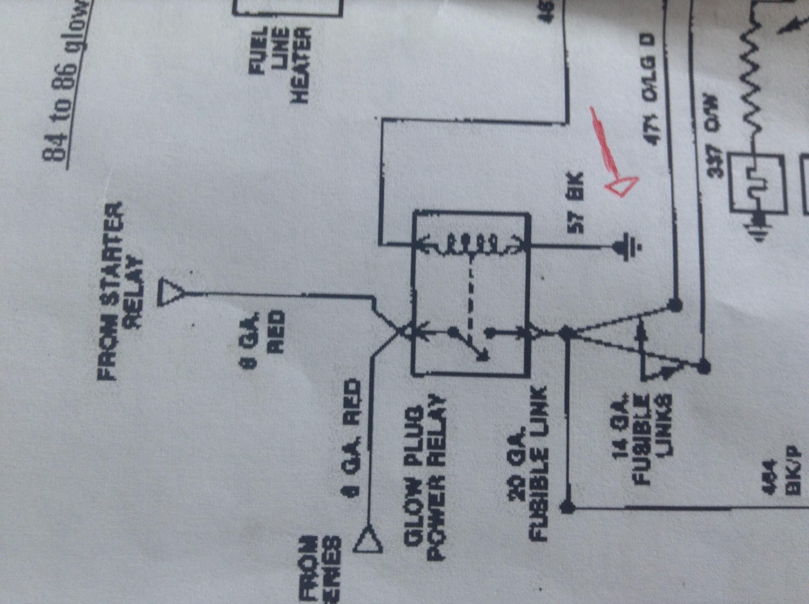 106545d1488923393 glow plug relay wiring easy one img_0041 glow plug relay wiring ? (easy one) diesel forum thedieselstop com