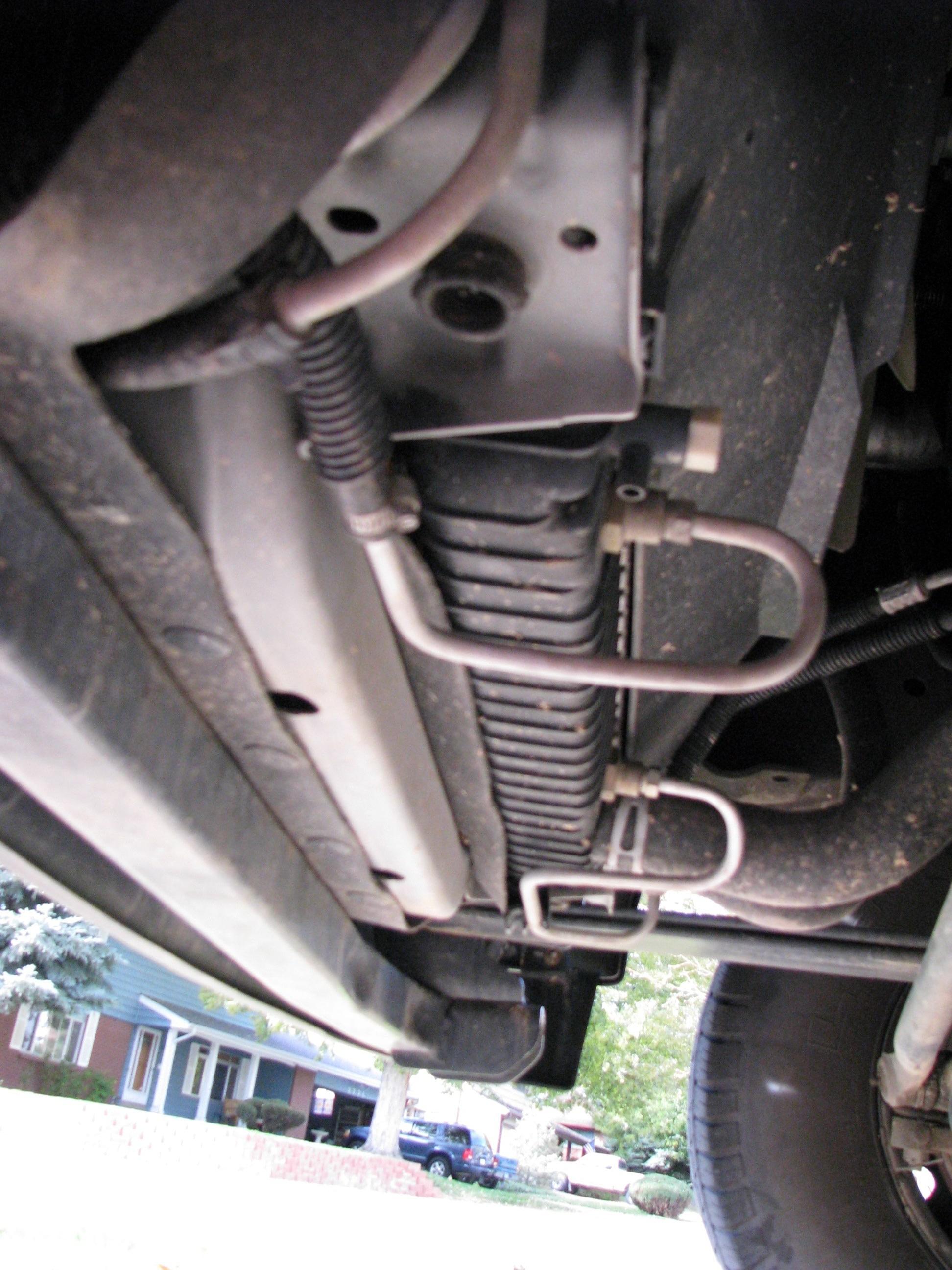 2006 ford f250 transmission cooler lines