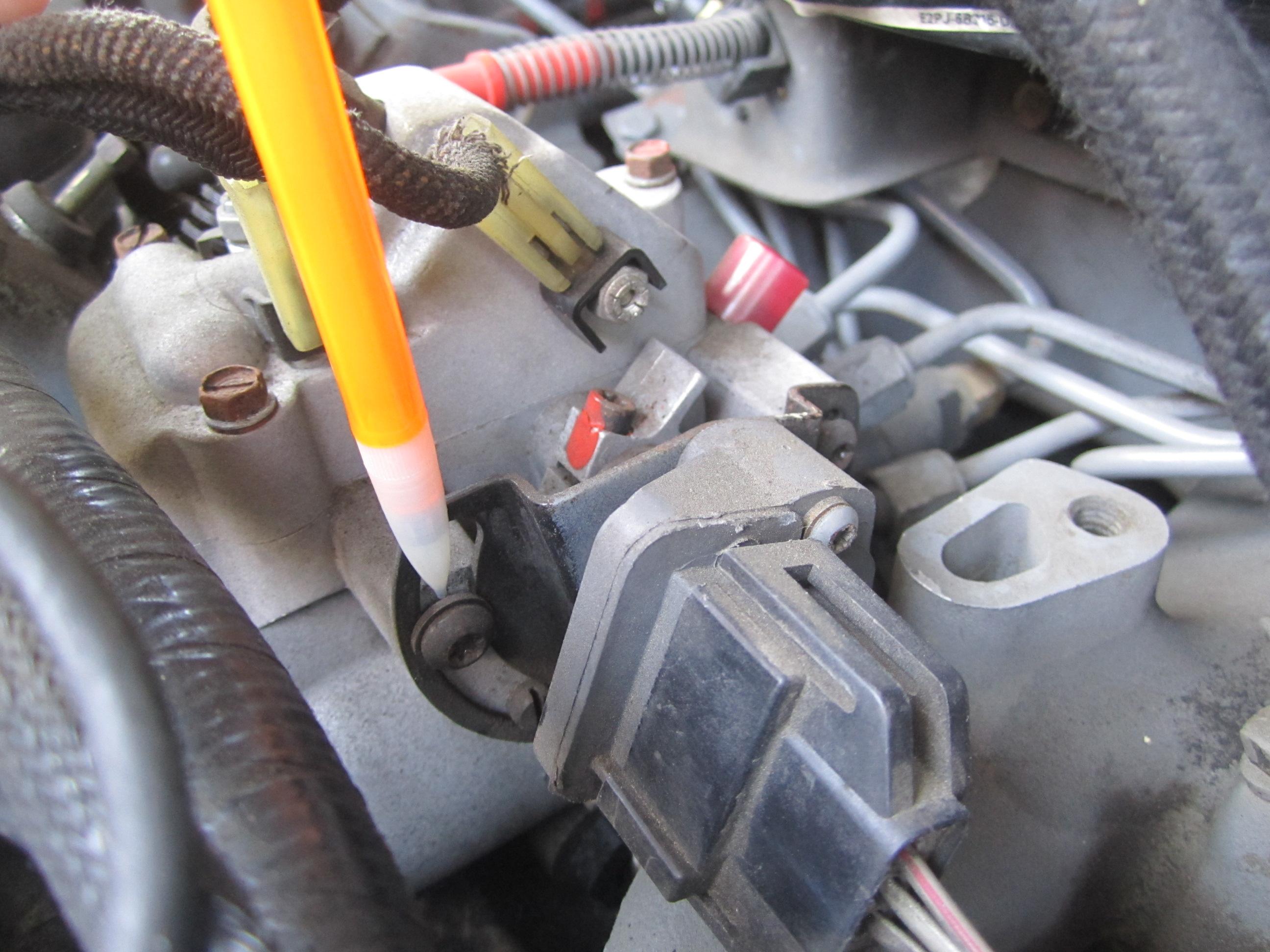 How To Reset Check Engine Light >> sparks flew when adjusting FIPL - Diesel Forum ...