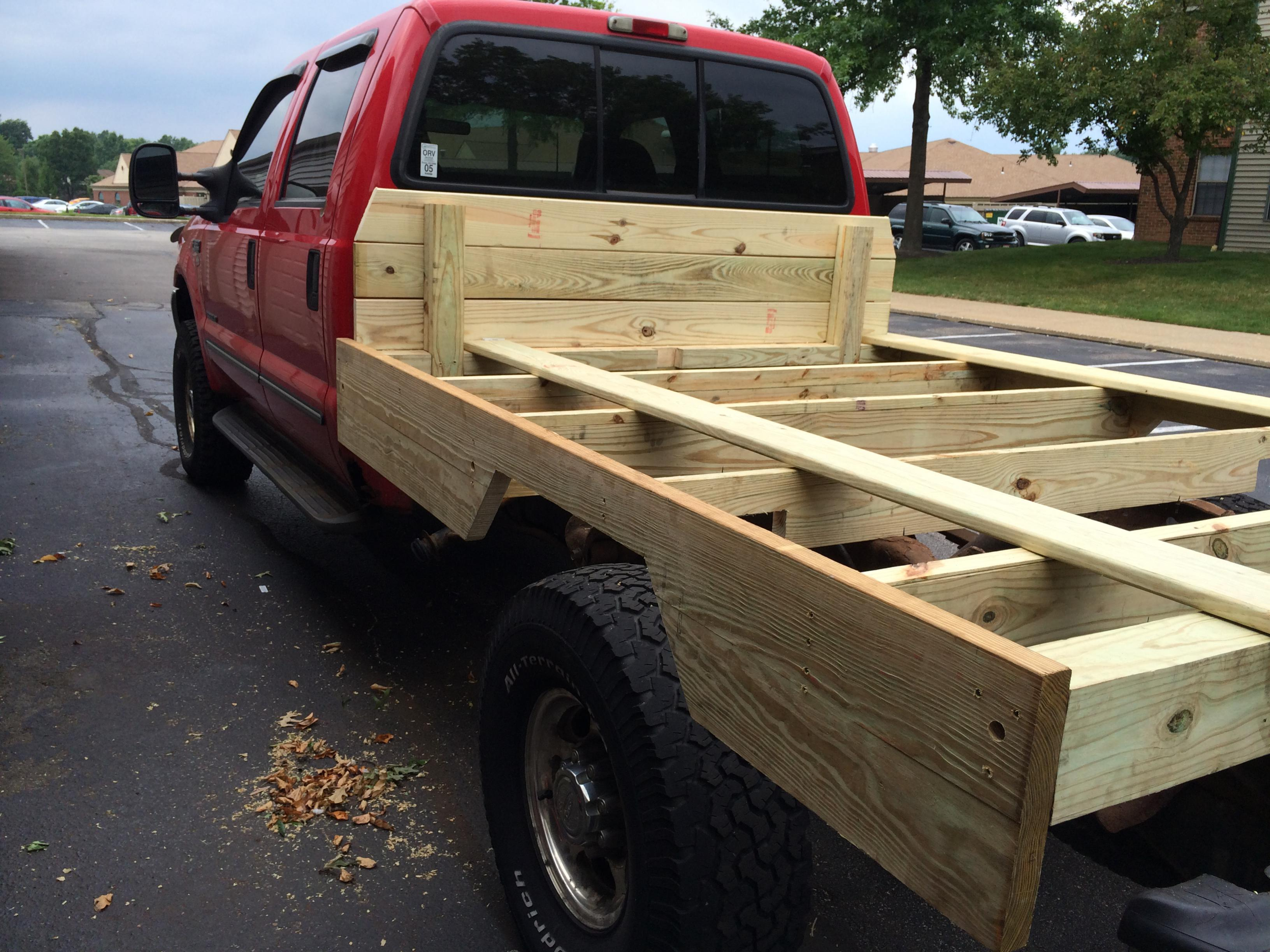 New Wooden Bed Diesel Forum Thedieselstop Com
