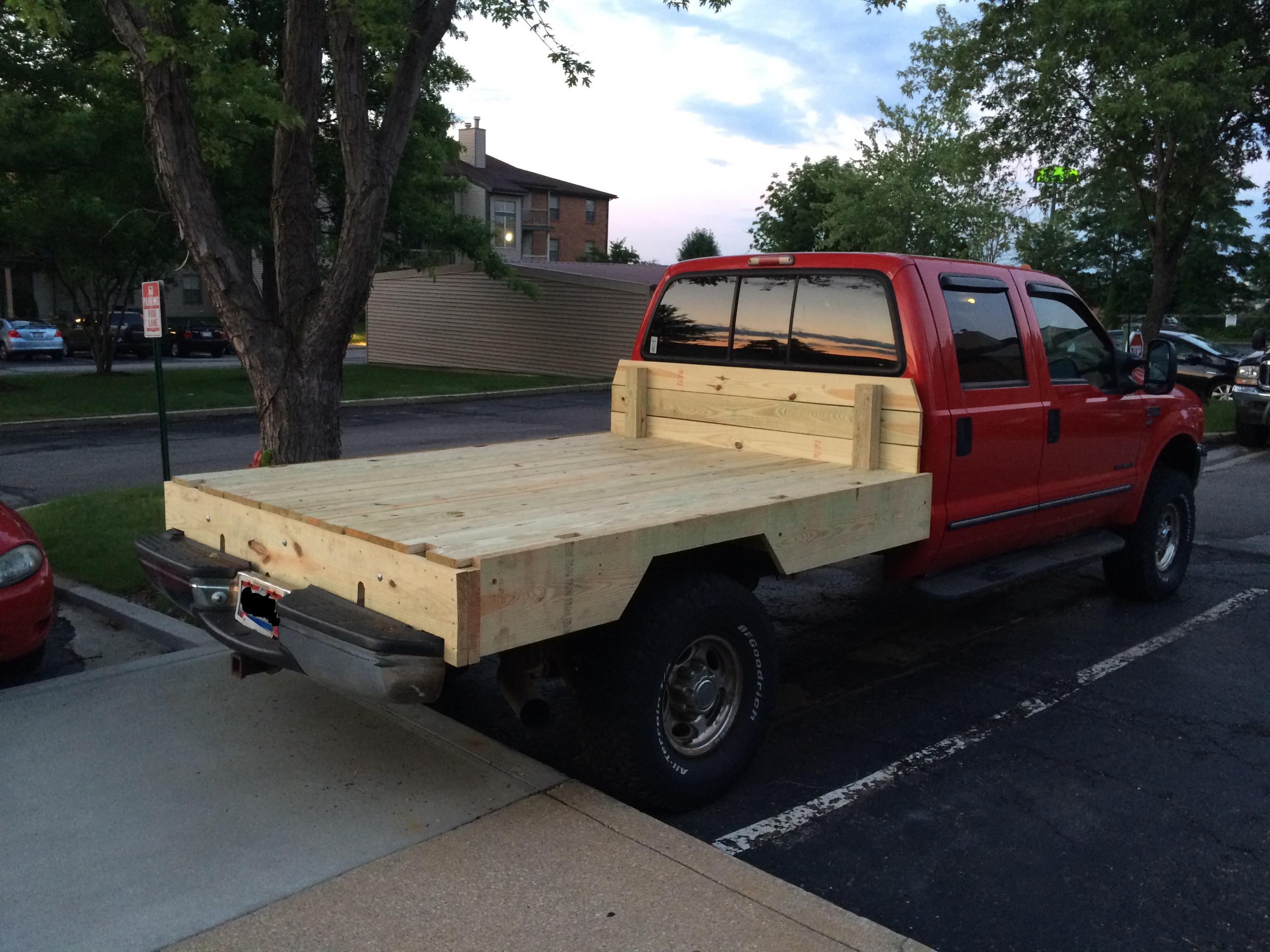 New Wooden Bed - Diesel Forum - TheDieselStop.com