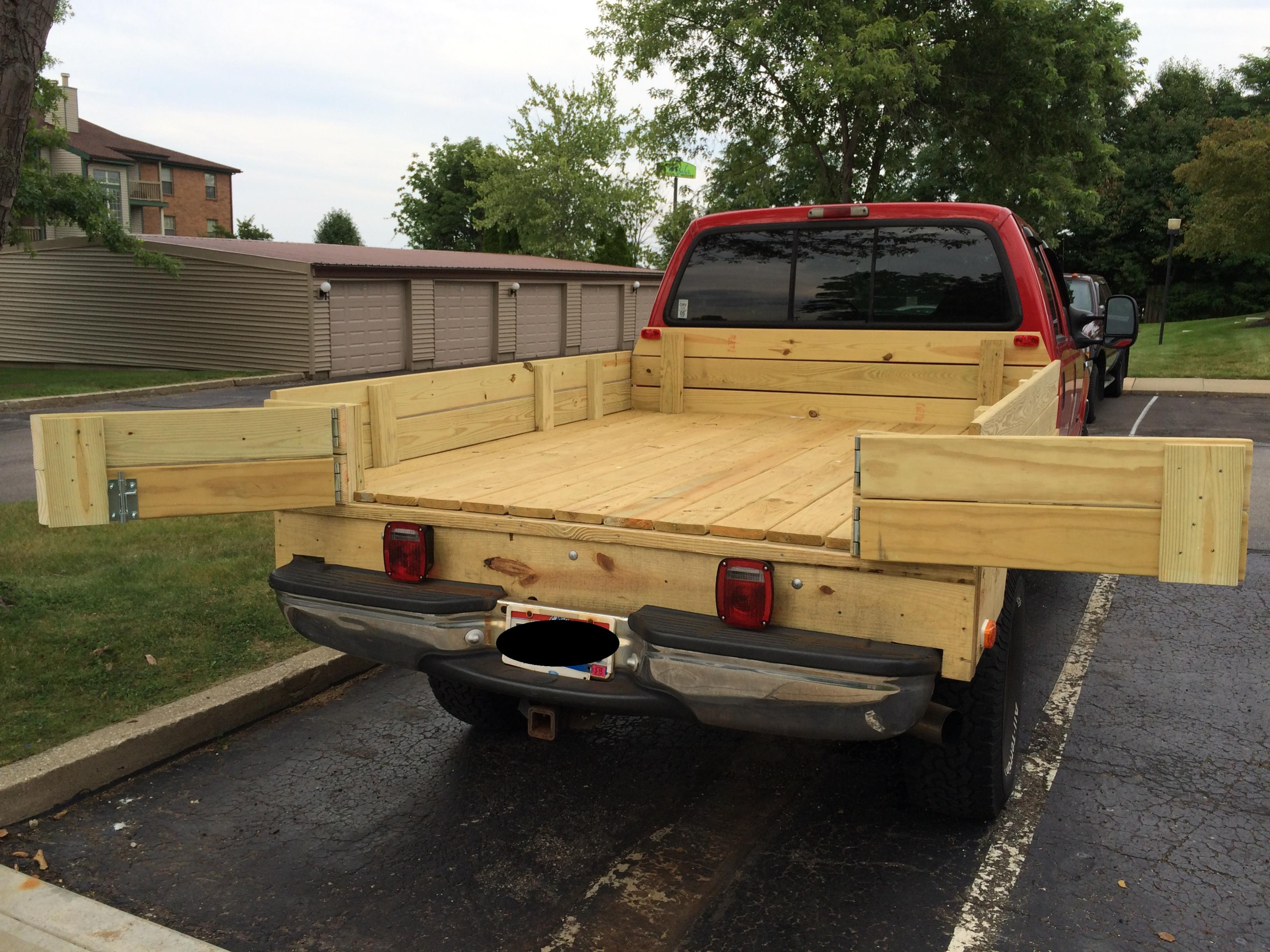 new wooden bed - diesel forum