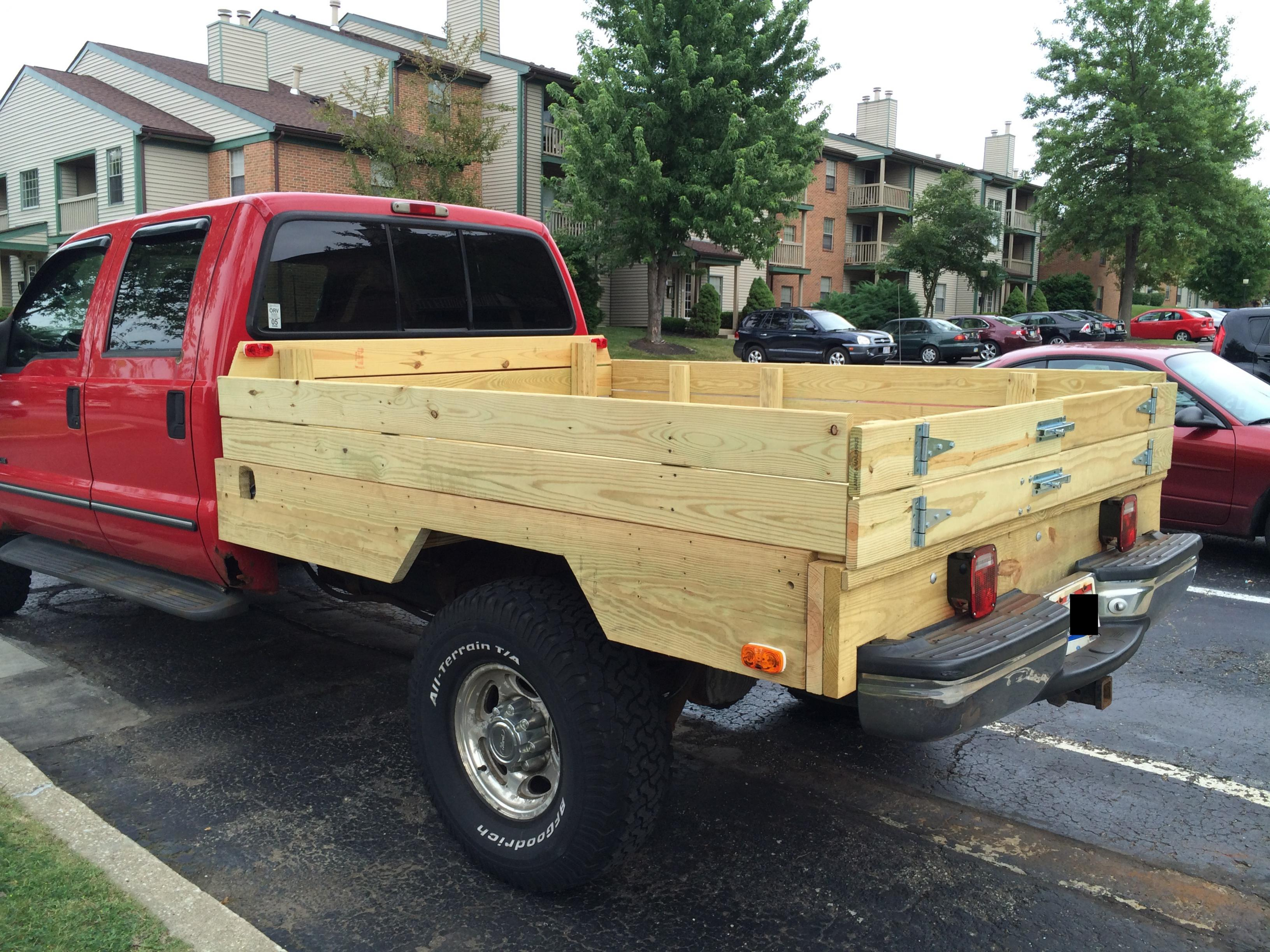 Marvelous photograph of Wooden Pickup Truck Beds with #9D2E37 color and 3263x2447 pixels