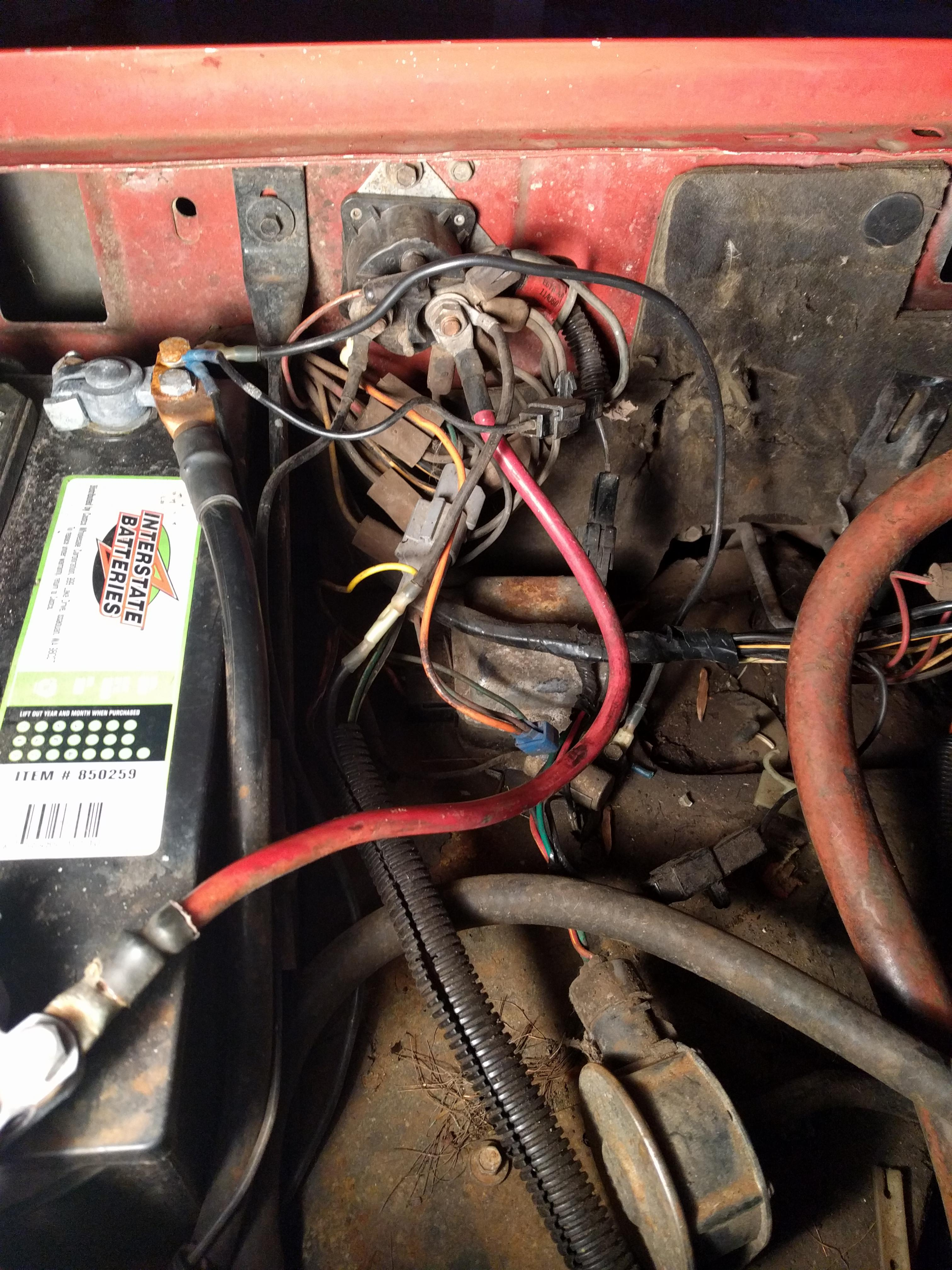 1987 F250 6.9L IDI Melted wiring harness | The Diesel StopThe Diesel Stop