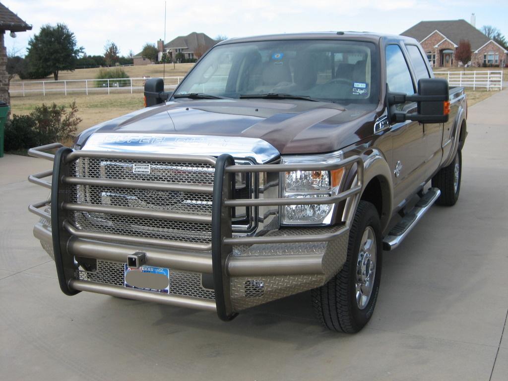 Ranch Hand Bumpers Installed - Diesel Forum ...